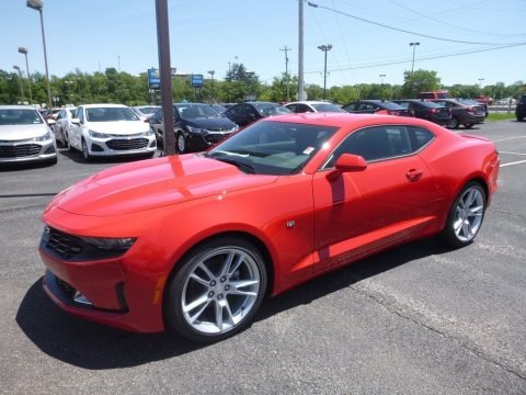 Red Hot 2019 Chevrolet Camaro LT Coupe