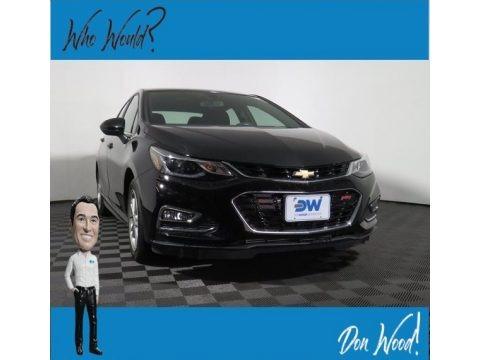 Mosaic Black Metallic 2018 Chevrolet Cruze LT