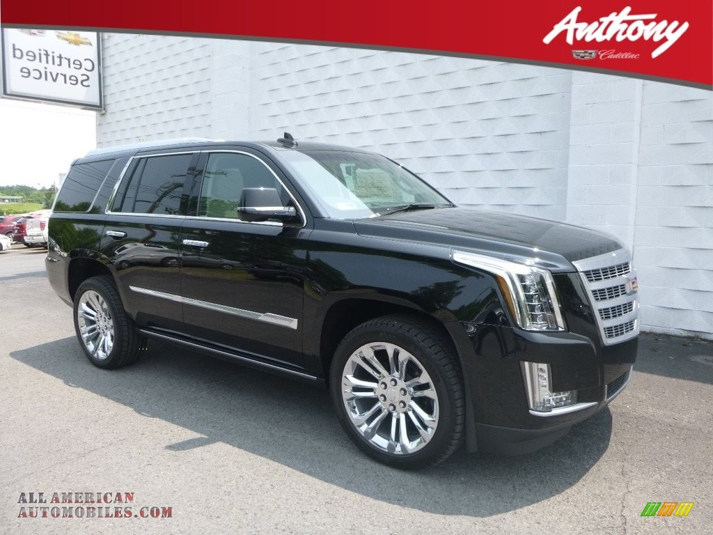 2019 Escalade Premium Luxury 4WD - Black Raven / Shale/Jet Black Accents photo #1