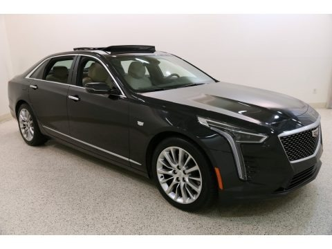 Manhattan Noir Metallic 2019 Cadillac CT6 Luxury AWD