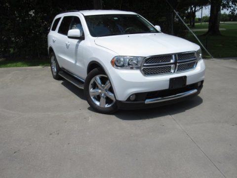 Bright White 2013 Dodge Durango SXT