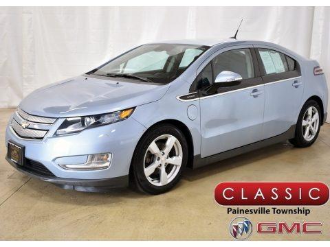 Silver Topaz Metallic 2013 Chevrolet Volt