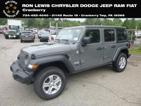 Sting-Gray 2019 Jeep Wrangler Unlimited Sport 4x4