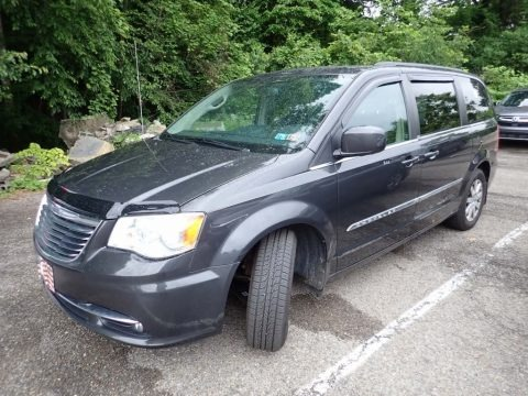 Dark Charcoal Pearl 2012 Chrysler Town & Country Touring