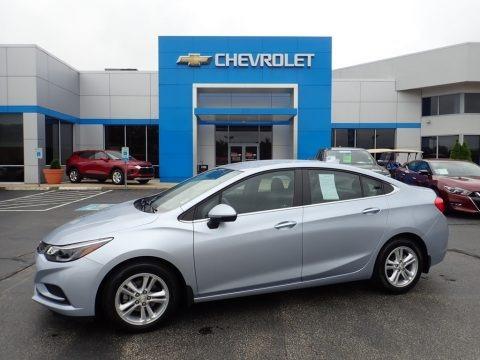 Arctic Blue Metallic 2017 Chevrolet Cruze LT