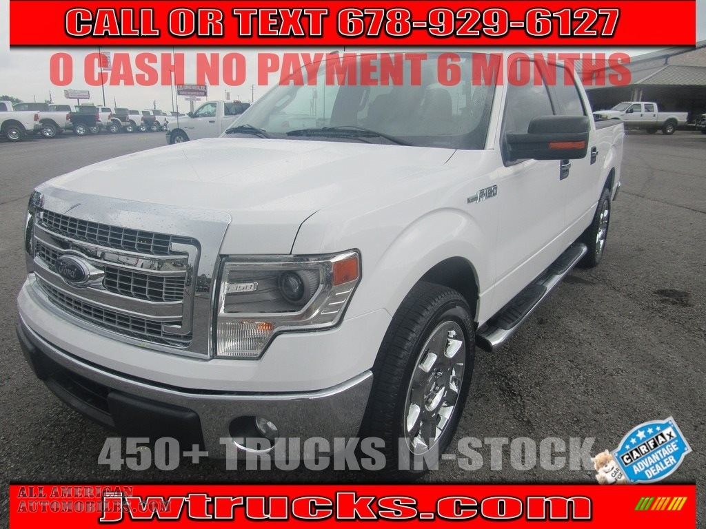 Oxford White / Steel Grey Ford F150 XLT SuperCrew