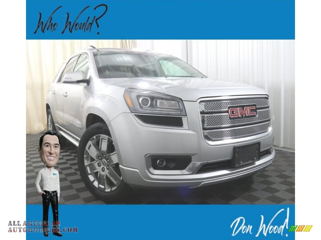 2016 Acadia Denali AWD - Quicksilver Metallic / Ebony photo #1