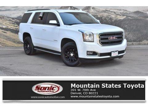 Summit White 2017 GMC Yukon SLT 4WD