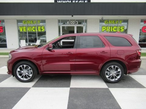 Octane Red Pearl 2019 Dodge Durango R/T AWD