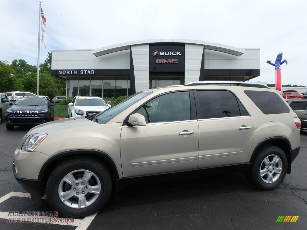 Gold Mist Metallic / Ebony GMC Acadia SLT AWD