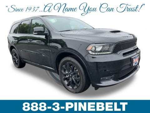 DB Black 2019 Dodge Durango R/T AWD