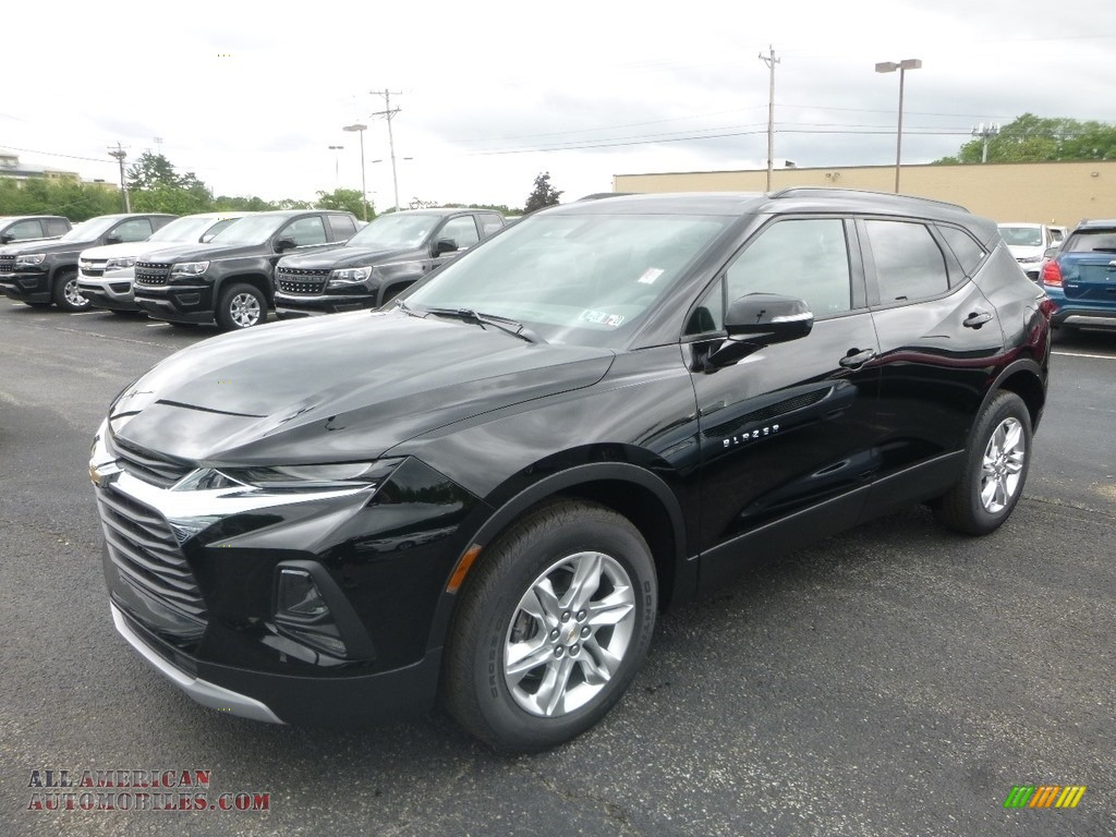 2019 Blazer 3.6L Cloth AWD - Black / Jet Black photo #1