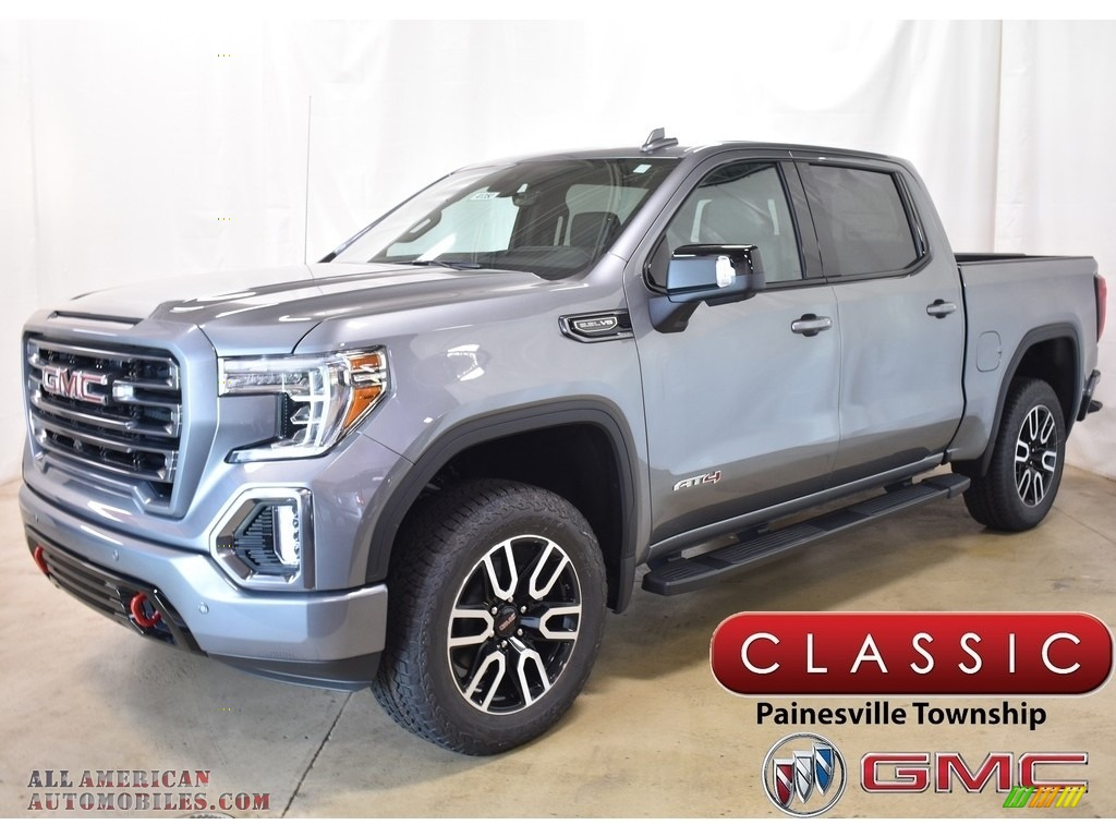 2019 Sierra 1500 AT4 Crew Cab 4WD - Satin Steel Metallic / Jet Black photo #1