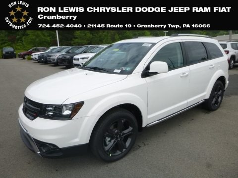Vice White 2019 Dodge Journey Crossroad AWD