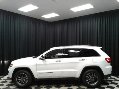 Bright White 2019 Jeep Grand Cherokee Limited