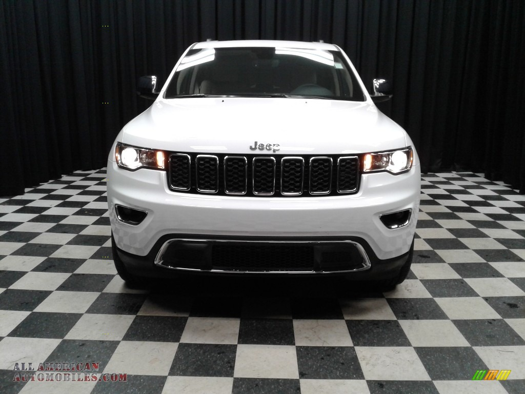 2019 Grand Cherokee Limited - Bright White / Light Frost Beige/Black photo #3