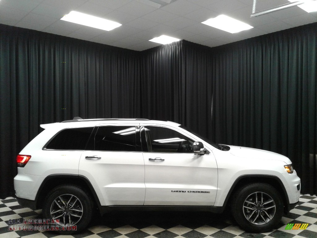 2019 Grand Cherokee Limited - Bright White / Light Frost Beige/Black photo #5