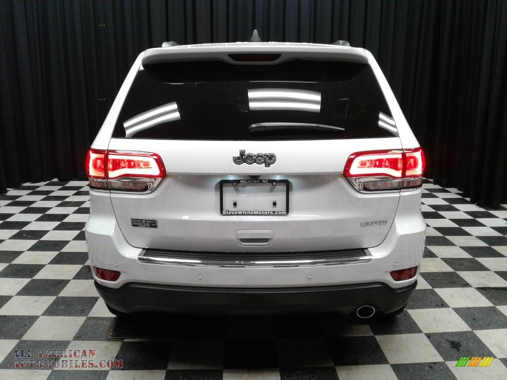 2019 Grand Cherokee Limited - Bright White / Light Frost Beige/Black photo #7