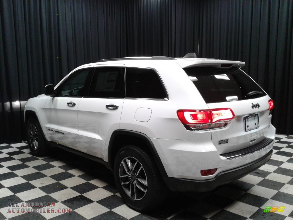 2019 Grand Cherokee Limited - Bright White / Light Frost Beige/Black photo #8