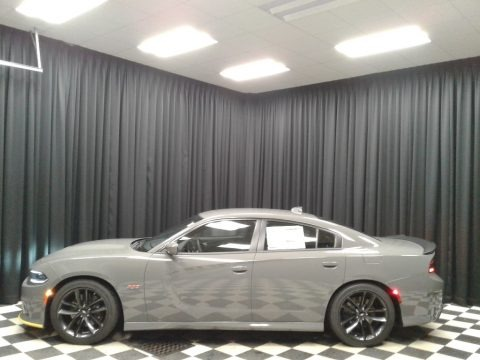 Destroyer Gray 2019 Dodge Charger R/T Scat Pack