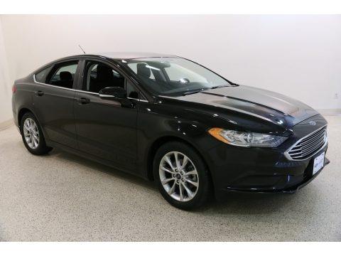 Shadow Black 2017 Ford Fusion SE