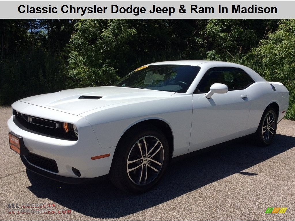 White Knuckle / Black Dodge Challenger SXT AWD