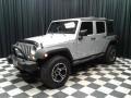Jeep Wrangler Unlimited Sport 4x4 Bright Silver Metallic photo #2