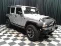 Jeep Wrangler Unlimited Sport 4x4 Bright Silver Metallic photo #4