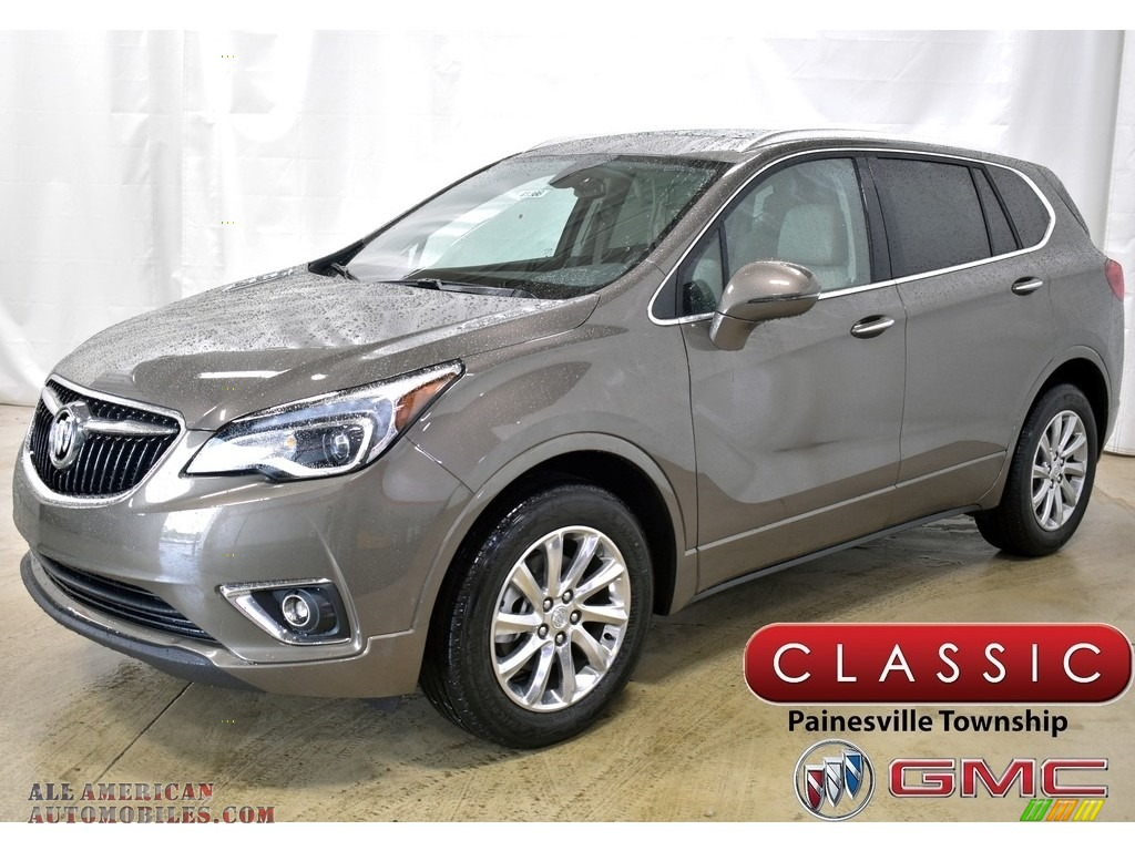 2019 Envision Essence AWD - Bronze Alloy Metallic / Light Neutral photo #1