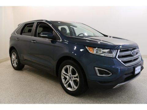 Too Good to Be Blue 2016 Ford Edge Titanium