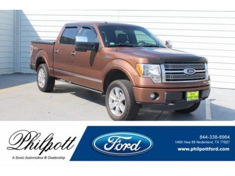 Golden Bronze Metallic 2011 Ford F150 Platinum SuperCrew 4x4