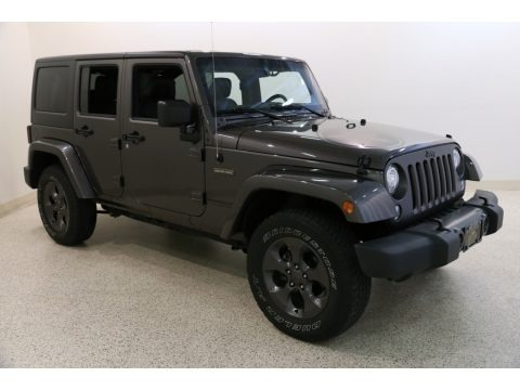 Granite Crystal Metallic 2017 Jeep Wrangler Unlimited Sport 4x4
