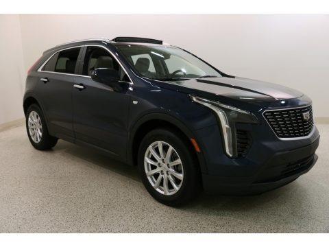 Twilight Blue Metallic 2019 Cadillac XT4 Luxury AWD