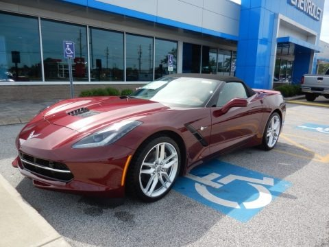 Long Beach Red Tintcoat 2019 Chevrolet Corvette Stingray Convertible