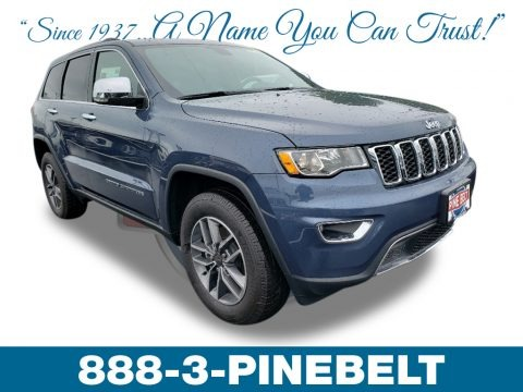 Slate Blue Pearl 2019 Jeep Grand Cherokee Limited 4x4