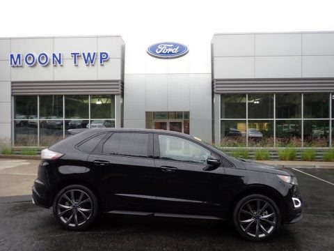 Shadow Black 2018 Ford Edge Sport AWD