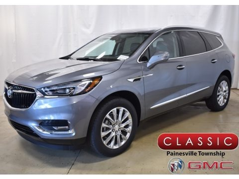 Satin Steel Metallic 2019 Buick Enclave Essence