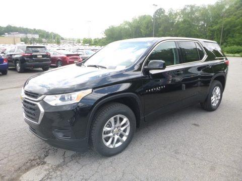 Mosaic Black Metallic 2019 Chevrolet Traverse LS