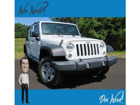 Bright White 2015 Jeep Wrangler Unlimited Sport 4x4
