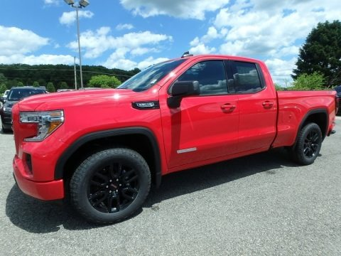 Cardinal Red 2019 GMC Sierra 1500 Elevation Double Cab 4WD