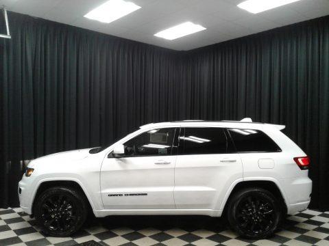 Bright White 2019 Jeep Grand Cherokee Altitude 4x4