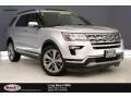 Ford Explorer Limited Ingot Silver photo #1