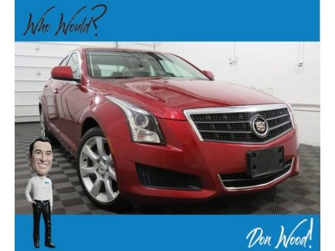 Red Obsession Tintcoat 2014 Cadillac ATS 2.0L Turbo AWD