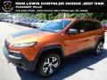 Jeep Cherokee Trailhawk 4x4 Mango Tango Pearl photo #1