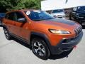 Jeep Cherokee Trailhawk 4x4 Mango Tango Pearl photo #8