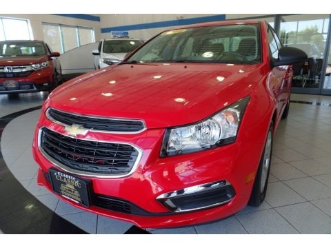 Red Hot 2016 Chevrolet Cruze Limited LS