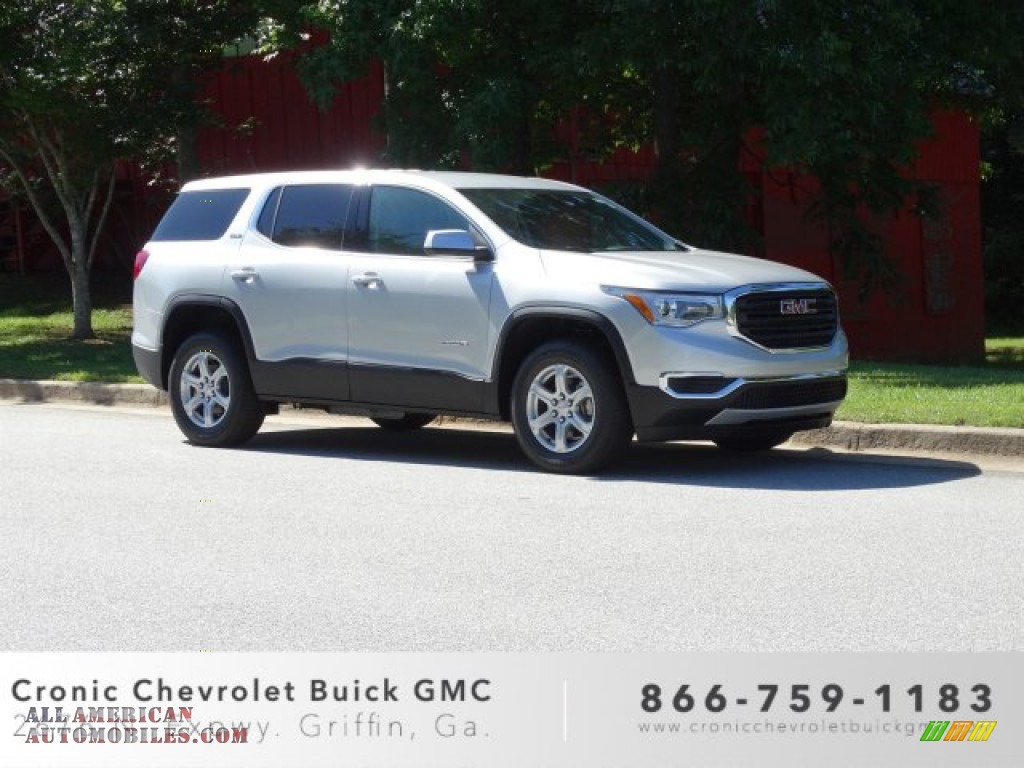 2019 Acadia SLE - Quicksilver Metallic / Jet Black photo #1