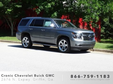Satin Steel Metallic 2019 Chevrolet Tahoe Premier