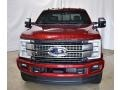 Ford F250 Super Duty Platinum Crew Cab 4x4 Ruby Red photo #4