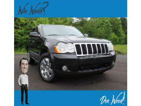 Brilliant Black Crystal Pearl 2009 Jeep Grand Cherokee Limited 4x4